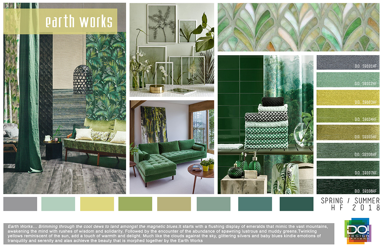 2018 Interior Color Trends