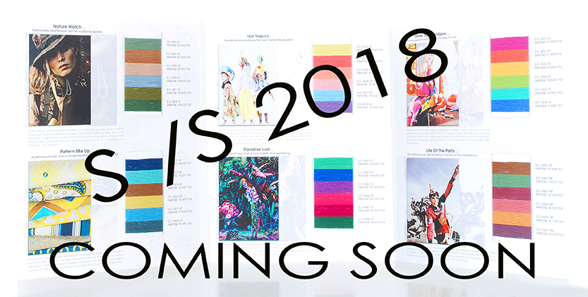 SS 2018 coming soon