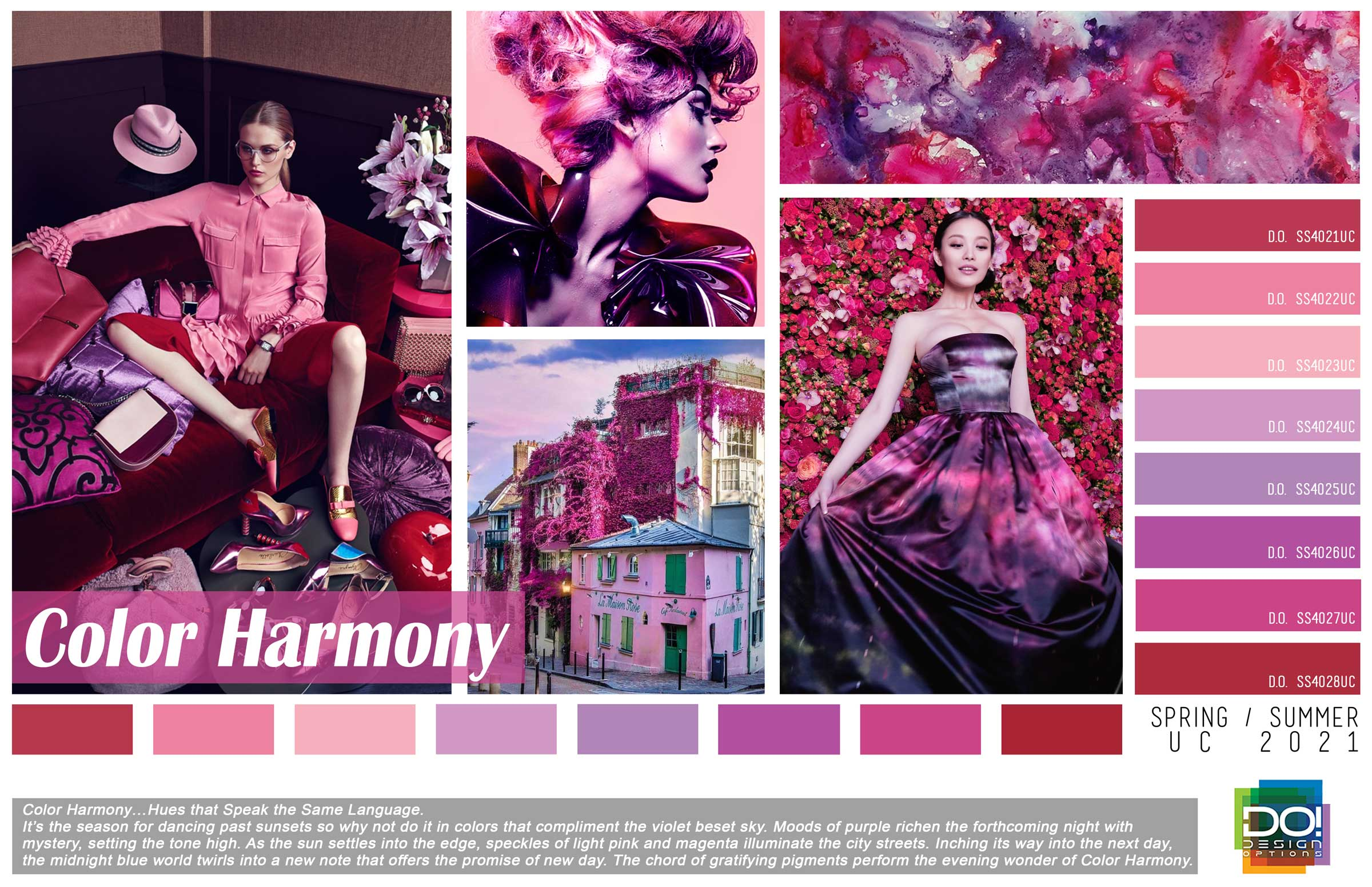 Color Harmony Design Options Color Forecasting